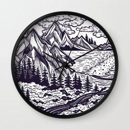 Landscape & Art Wall Clock