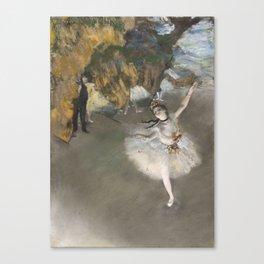 The Star - Edgar Degas Canvas Print