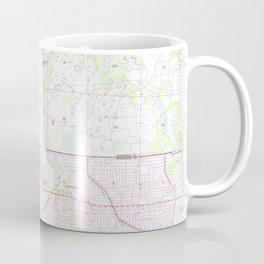 Vintage Map of Englewood & Grove City FL (1956) Coffee Mug