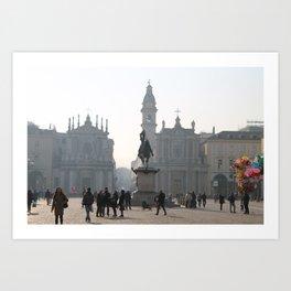 Torino Art Print