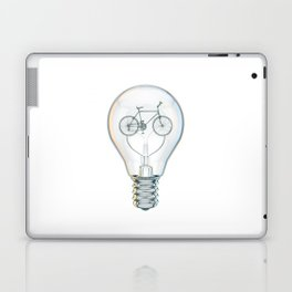Light Bicycle Bulb Laptop & iPad Skin