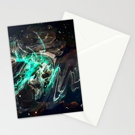Peering into the darkness Stationery Cards