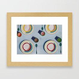 Oatmeal Framed Art Print