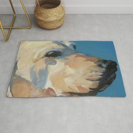 Mandy the Golden Labrador Rug
