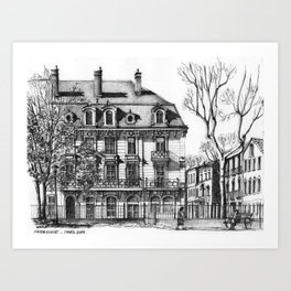 Narbonne Art Print