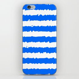 Blue Stripes iPhone Skin
