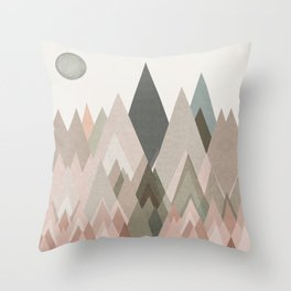 pastel plateau deux Throw Pillow