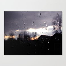 just like raindrops Canvas Print