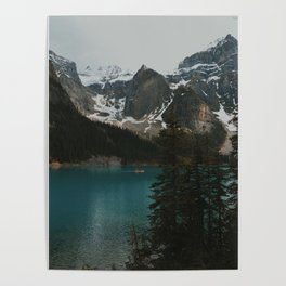 moraine natural blue Poster