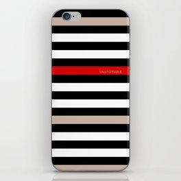 Unstoppable Stripes iPhone Skin