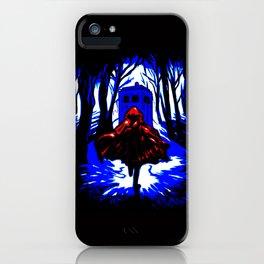 Shadow Light Of Tardis iPhone Case