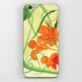 Indian Cress #2 iPhone Skin