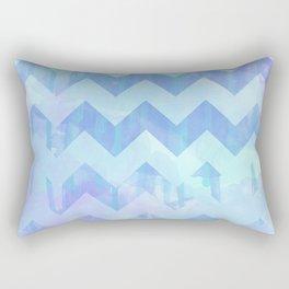 Watercolour Chevron {Spring 2015 Limited Edition} No. 2 Rectangular Pillow