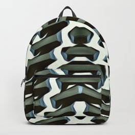 Ribbed. Backpack