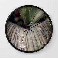 magic the gathering Wall Clocks featuring Morning Gathering by KunstFabrik_StaticMovement Manu Jobst