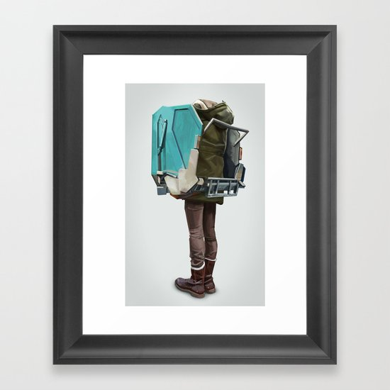New Fashion Framed Art Print