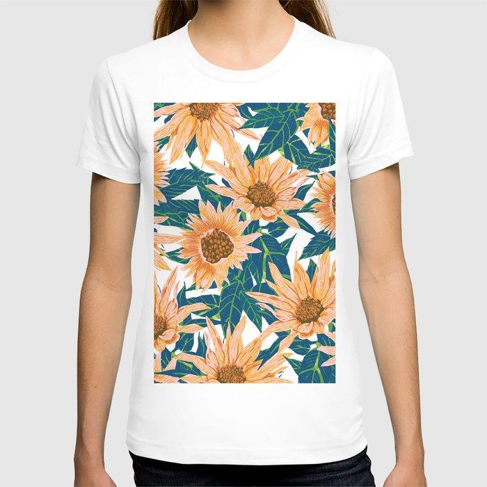 Blush Sunflowers T-shirt