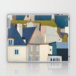 france houses abstract art Laptop & iPad Skin