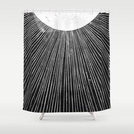 Luma | Block Print Shower Curtain