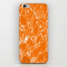 Orange Water iPhone & iPod Skin