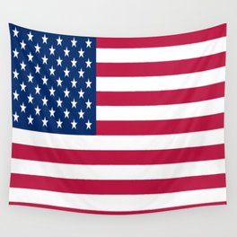 Flag of USA - American flag, flag of america, america, the stars and stripes,us, united states Wall Tapestry