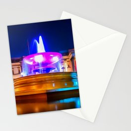 Trafalgar Square (Painting) Stationery Cards