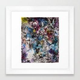 Flowing Emission Framed Art Print