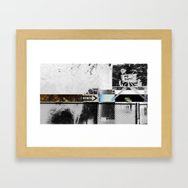 One Way Only Framed Art Print