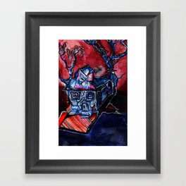 Haunted House Framed Art Print
