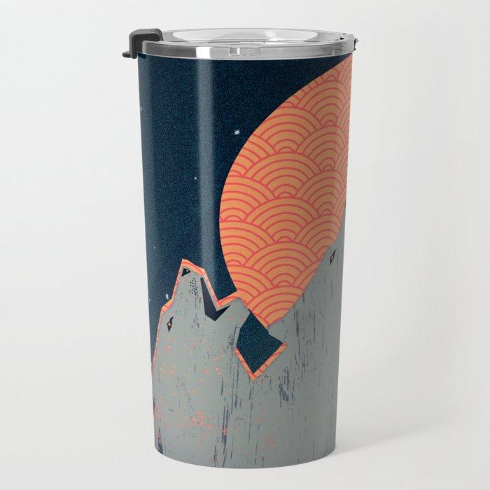 Howling Moon Travel Mug