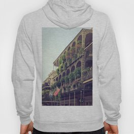 French Quarter Balconies - Royal Street Hoody