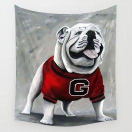 UGA Georgia Bulldogs Mascot Wall Tapestry