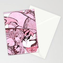 Strawberry Vamp Stationery Cards