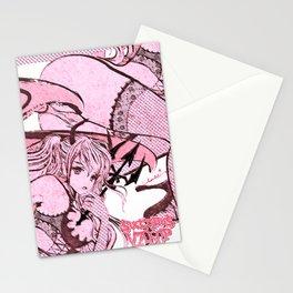 Strawberry Vamp Stationery Cards