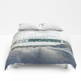 California, Los Angeles, beach, seaside, ocean, surf, downtown, Cali, SoCal Comforters