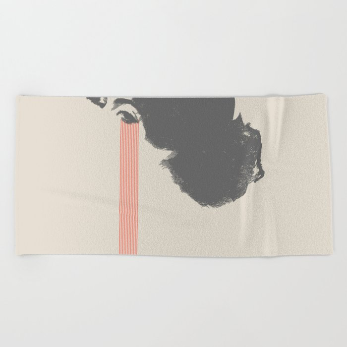 Tear Beach Towel