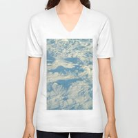 ice V-neck T-shirts featuring Ice by Platinepearl