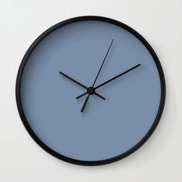 Denim Blue Wall Clock