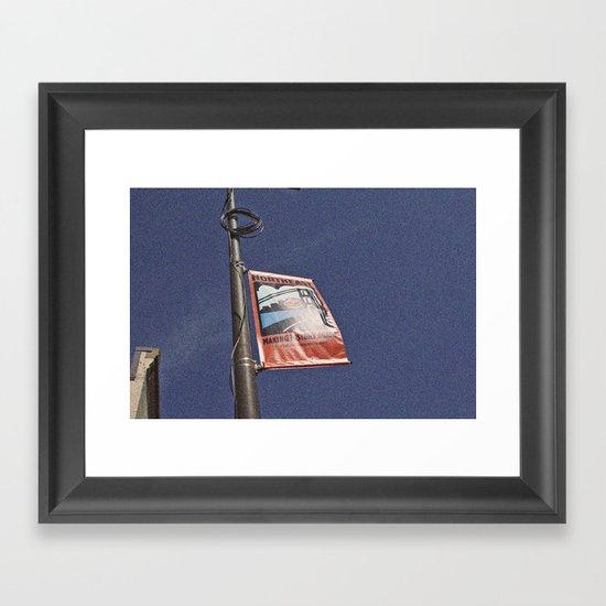 Northeast Minneapolis Framed Art Print