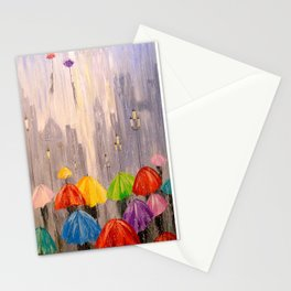 Toward the dream Stationery Cards