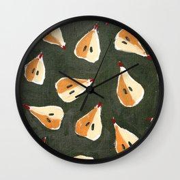 Pears Wall Clock