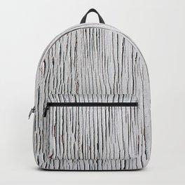 Urban Wood - White Cracked Backpack