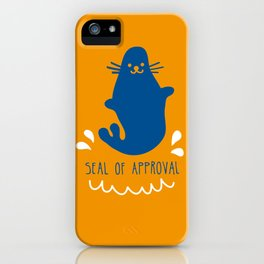 Seal of approval iPhone Case