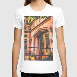 New York City Autumn Pumpkin T-shirt