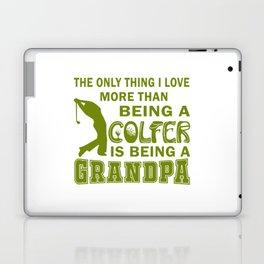 Grandpa Over Golf Laptop & iPad Skin