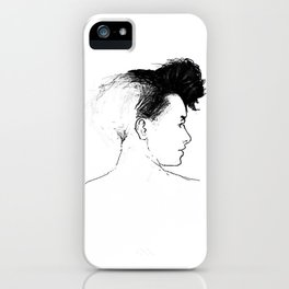 Quiff iPhone Case