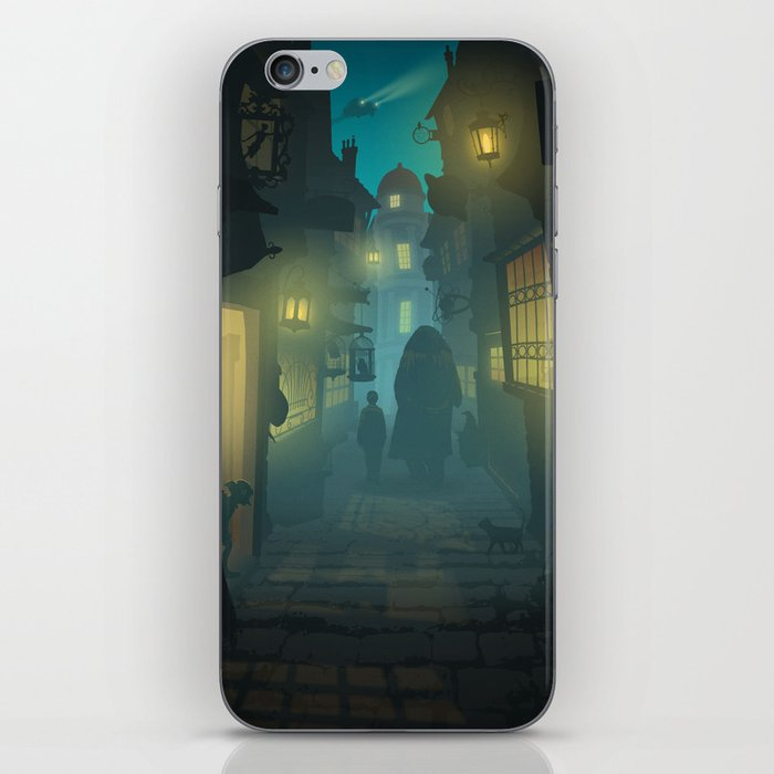 Diagon Alley iPhone Skin