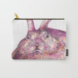 Grumpy Bunny Carry-All Pouch