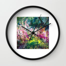Forest edge Wall Clock