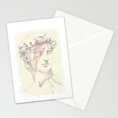 David: Michelangelo and Bowie Stationery Cards